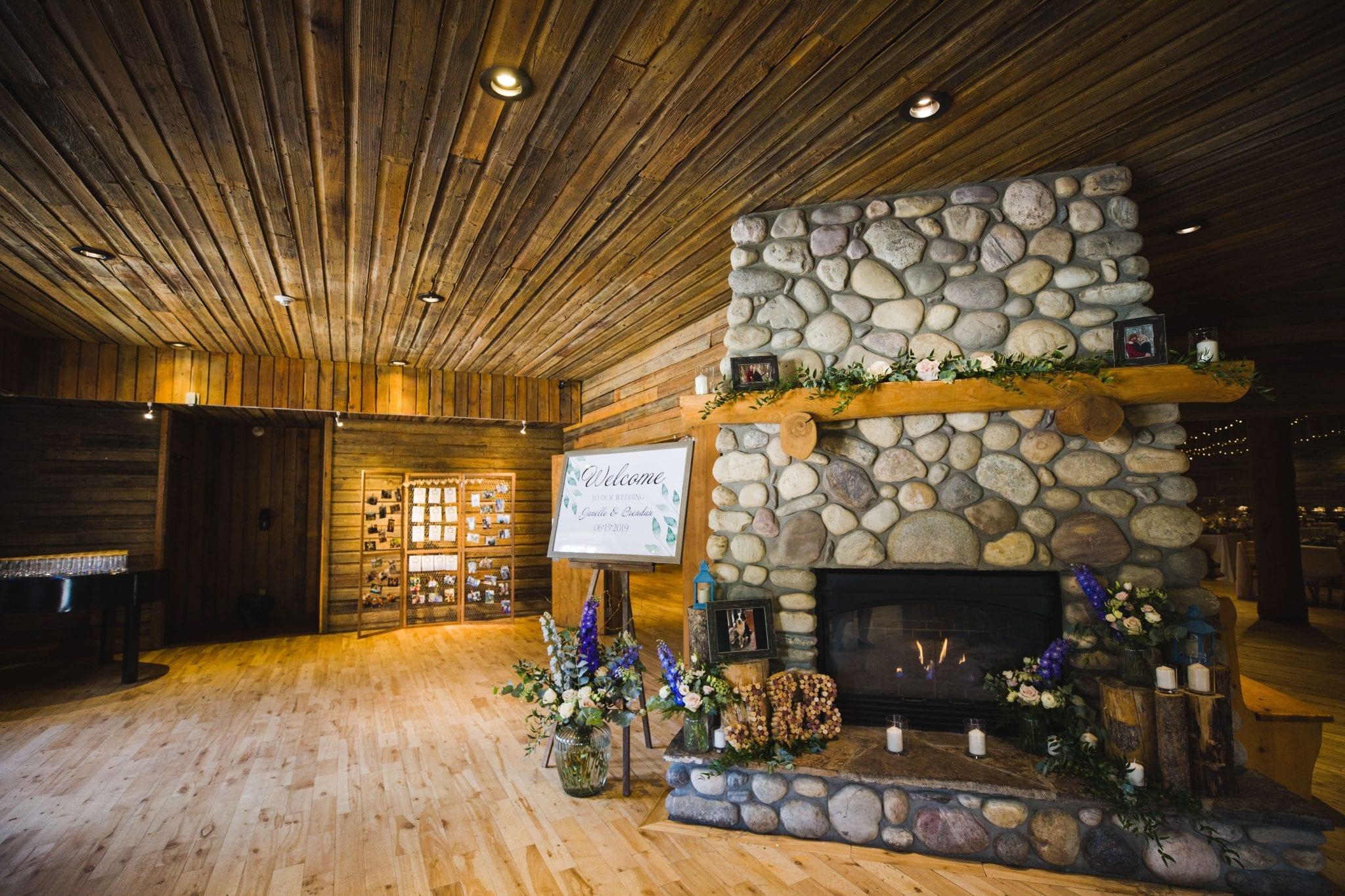 Canmore wedding venue, Cornerstone Theatre lobby