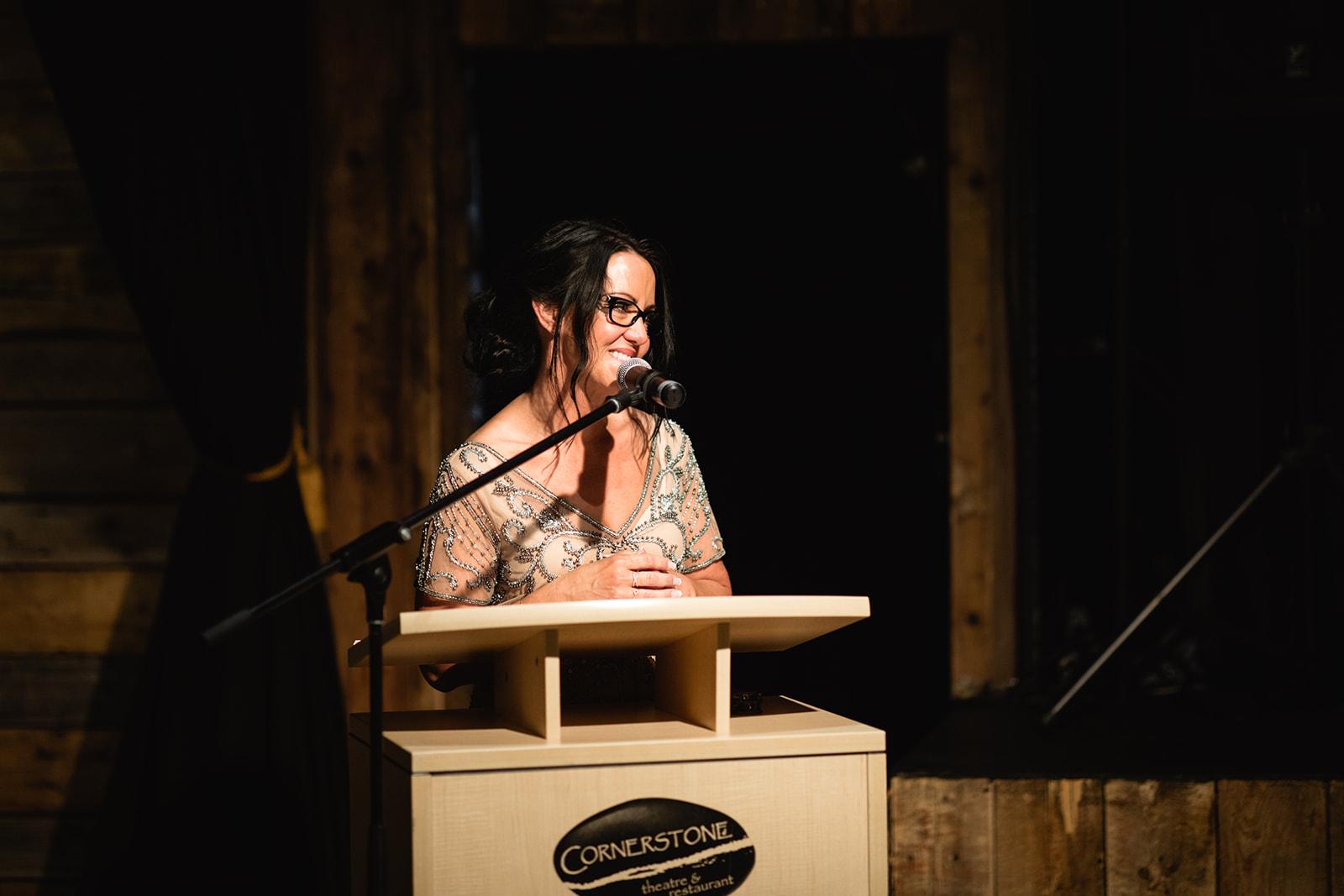 Event venues in Canmore, Cornerstone Theatre, speech, corporate