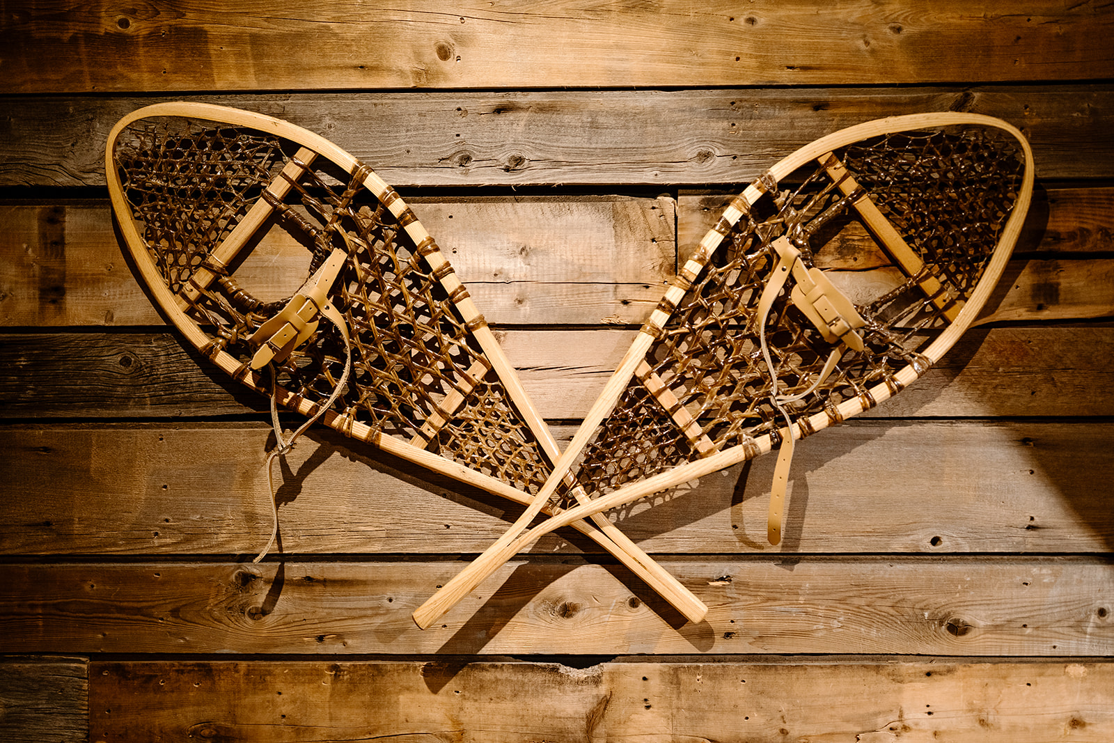 snow shoes at a event venues in Canmore, Cornerstone Theatre